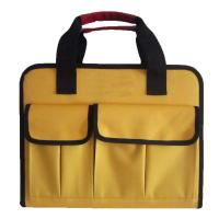Buy cheap Tote Soft  Nylon  Mechanic Tool Bag With Multiple Pockets Size Customized from wholesalers