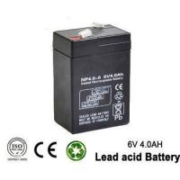 Buy cheap 6v 4ah Rechargeable Emergency Light Lead acid battery for UPS , lighting from wholesalers