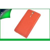 Buy cheap Litchi Grain Book Style Cell Phone Wallet Cases For Women Sony Xperia S from wholesalers