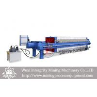 Buy cheap Automatic Membrane Dewatering Filter Press Copper Tailings Dehydrating from wholesalers