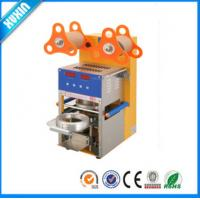 Buy cheap Automatic Plastic Cup Sealing Machine/Capper for Milk Tea, Bubble Tea , Yogurt from wholesalers