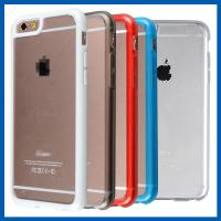 Buy cheap Hybrid Clear Soft Slim Iphone 6 Protective Cases With Flip Cover from wholesalers