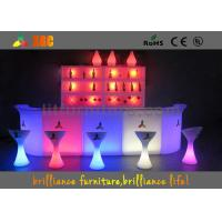 Buy cheap Out door LED bars counter set with RGB lighting , Outdoor Furniture from wholesalers
