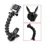 Buy cheap Sport SJCAM Gopro Camera Mounts 18cm Gooseneck Jaws Clamp Holder from wholesalers