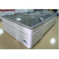 Buy cheap Commercial Island Freezer -20°C - 18°C , Supermarket Island Freezer With Sliding Glass Door from wholesalers