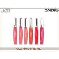 Buy cheap Liquid Form Color Fever Makeup Lip Gloss For Fashion Show 4.5ml Volume from wholesalers