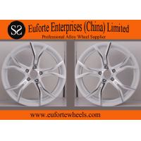 Buy cheap SS Wheels-Audi 18 inch White Lightweight Forged Wheels / Forging Wheels product
