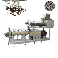 Buy cheap High quality floating fish feed pellet extruder machinery automatic production line from wholesalers