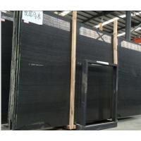 Buy cheap Perfect Quality Timber Black Marble,Chinese Black Marble,Slab&Tile,Wood Marble Wall Tile,Flooring from wholesalers