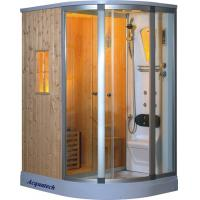 Buy cheap 3000W small luxury steam shower bathtub combo Sauna Rooms cabins enclosures from wholesalers