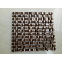 Buy cheap decorative metal screen mesh for room divider panel mesh product