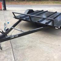 Buy cheap 8x6 Motor Bike Motorcycle Utility Trailer , Easy Load Tandem Axle Utility Trailer from wholesalers