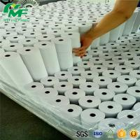 Buy cheap Factory Price Cash Register Thermal Receipt Paper rolls   80*80   80 x 70 80*50mm 57*38mm  with red line black plastic core from wholesalers