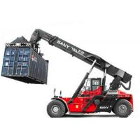 Buy cheap 18.00-25 Tire Sany Kalmer Heli  SRSC4545C2-80 45 ton stacker crane reach stacker for Port containers from wholesalers