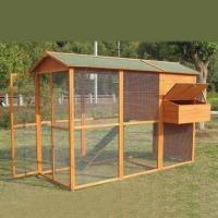 Buy cheap Wooden Chicken Coop with Raised-off Town and Nest Box, Measures 2,270 x 1,440 x 1,860mm from wholesalers