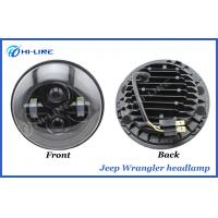 Buy cheap 7 Inch Round LED Car Headlight Bulbs , Jeep Wrangler High Low Beam Headlamp product