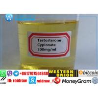 Buy cheap Lean Muscle Building Steroids Liquid Testosterone Cypionate 250 mg/Ml from wholesalers