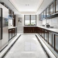 Buy cheap modern design white marble look kitchen ceramic 60x60 wall tile price from wholesalers