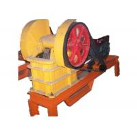 Buy cheap Mini Concrete Benefication Machine PE Jaw Crusher PEF Series For Primary Crushing from wholesalers