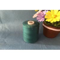 Dyeing Type 100 Spun Polyester Sewing Thread High Tenacity With S Twist Direction