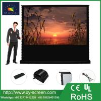 Buy cheap Portable Floor Rising Projection Screen Pull-Up Convenient Anywhere High Gain Projector Screen from wholesalers