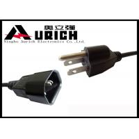 Custom NEMA 5-15P Sjtw  Sjoow UL Power Cord , 3 Pin Iec SZ3 Plug Power Cable