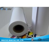Buy cheap Matte Printable PP Synthetic Paper , Polypropylene Paper Rolls For Dye Ink from wholesalers