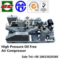 Buy cheap High Pressure Oil Free Screw And Booster Air Compressor For PET product