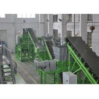 Buy cheap 1000 Kg / H Waste Tyre Recycling Machine , Big Fat Tire Recycling Production Line from wholesalers