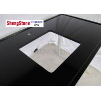 Buy cheap Black Color Clear Epoxy Resin Countertops One Hole 1500*700 Mm Size from wholesalers