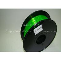 Buy cheap Green 0.8kg / Roll Flexible 3D Printer Filament Environmentally Friendly from wholesalers