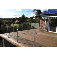 Buy cheap Classic Glass Balustrade with Stainless Steel Top Handrail for Balcony from wholesalers