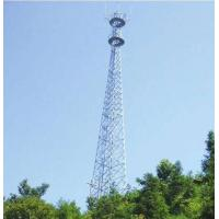 Buy cheap 60 M Steel Tubular  Tower , Telecommunications Towers  75(100) / 100(130)  Wind Speed from wholesalers