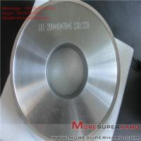 Buy cheap 1A1 200*40*76*5 Metal bond Grinding wheels for magnetic materials ALisa@moresuperhard.com from wholesalers