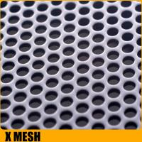 Buy cheap Customize mirror finish honeycomb perforated stainless steel sheets with  1219mm width from wholesalers