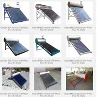 Buy cheap Compact Non-pressure Solar Water Heater from wholesalers