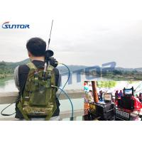 Buy cheap 5W Manpack COFDM Transmitter RF Long Range Video Transmitter 37dBm product