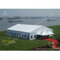 Buy cheap Uv Resistant Red Carpet Decorated Outdoor Party Tents For Wedding Ceremony from wholesalers