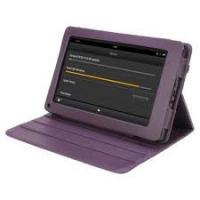 Buy cheap Purple Premium PU Leather Pouch Kindle Fire Covers And Cases With Different Colors from wholesalers