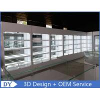 Buy cheap High Wooden Shelf Jewellery Shop Display Cabinets For Showroom from wholesalers
