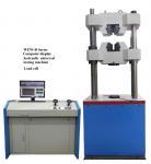 Buy cheap WAW-600D Computer Control Servo Hydraulic Universal Testing Machine from wholesalers