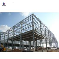 Buy cheap high rise Q345 steel structure workshop layout / workshop design from wholesalers