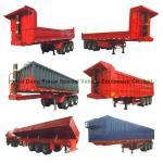 Buy cheap Heavy Duty U Shape End Tipping Rear Dump Semi Trailer For Truck 35 - 45 Ton from wholesalers