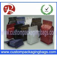 Buy cheap Square Bottom Aluminum Foil Plastic Coffee Bean Packing Bag With ZipLock from wholesalers