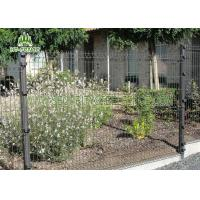 Buy cheap Black Welded Wire Garden Fence With 3D Curved Type Powder Coating Finished from wholesalers