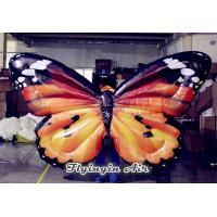 Buy cheap Inflatable Simulation Butterfly Wings Costumes for Wedding Stage Decoration from wholesalers