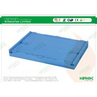 Buy cheap OEM Folding Plastic Boxes Design Clear Logistic Container from wholesalers