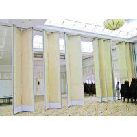 Buy cheap Soundproof Fabric Finish Acoustic Operable Walls Top Hung For Banquet Hall from wholesalers