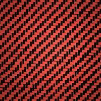 Buy cheap Red carbon cloth,carbon fiber kevlar hybrid fabric,carbon fiber cloth width1m-1.5m,Toray material,Top quality. from wholesalers