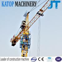 Buy cheap China tower crane 5t load QTZ63-TC5010 tower crane for export from wholesalers